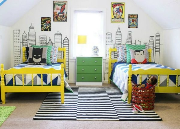 Incredible Superhero Room Décor Ideas Kids Will Love ➤ Discover the season's newest designs and inspirations for your kids. Visit us at www.kidsbedroomideas.eu #KidsBedroomIdeas #KidsBedrooms #KidsBedroomDesigns @KidsBedroomBlog superhero room décor ideas Incredible Superhero Room Décor Ideas Kids Will Love Incredible Superhero Room D  cor Ideas Kids Will Love Cover 600x432
