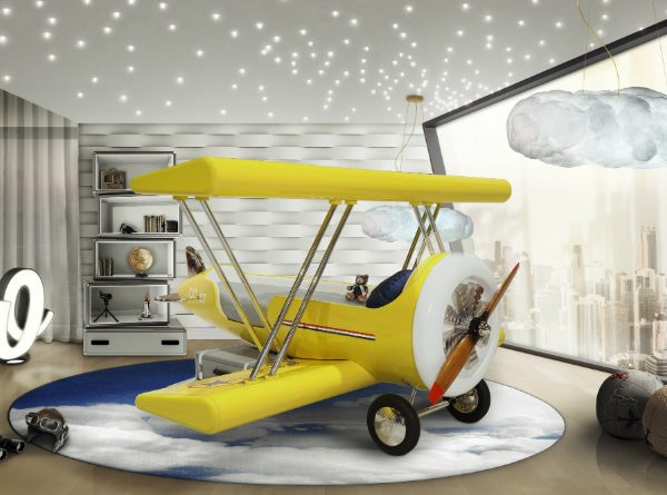Plane Bed Ideas Kids Bedroom Ideas: Plane Bed Ideas For Boys Room Kids Bedroom Ideas Plane Bed Ideas For Boys Room Cover 1 600x445