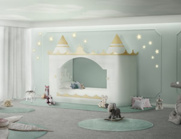 We Give You 5 Good Reasons to Visit Circu's Stand at Isaloni 2018 kids bedroom furniture Kids Bedroom Furniture: Be Amazed by these Adorable Princess Beds kings queens castle ambience circu magical furniture 02 600x460