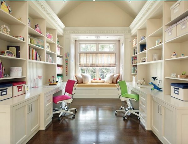 10 Study Room Ideas to Inspire Your Kid's Very Own Study Room Ideas 10 Study Room Ideas to Inspire Your Kid's Very Own Back to School Furniture 5 Desks To do Homework in Style 9 600x460