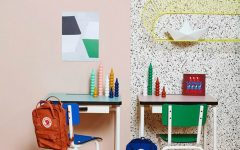kids study room ideas 6 Kids Study Room Ideas to Motivate Them to do Homework colourful kids work space 240x150