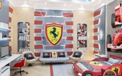 antonovich design An Amazing Ferrari Boys Bedroom By Antonovich Design An Amazing Ferrari Boys Bedroom By Antonovich Design 3 240x150
