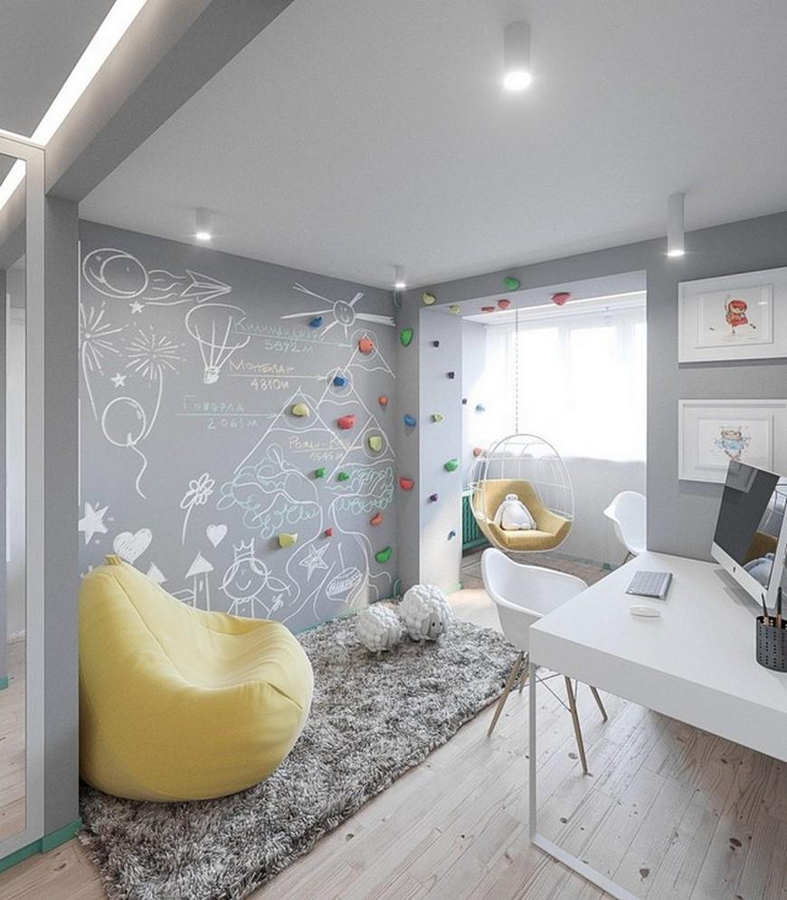 Children's Bedroom Ideas - A Scandinavian Kids Room In Kiev scandinavian kids room Children's Bedroom Ideas – A Scandinavian Kids Room In Kiev Childrens Bedroom Ideas A Scandinavian Kids Room In Kiev 10