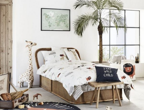 Kids Bedroom Trends - H&M Home's Safari Themed Bedroom Furniture kids bedroom trends Kids Bedroom Trends – H&M Home's Safari Themed Bedroom Furniture Kids Bedroom Trends HM Homes Safari Themed Bedroom Furniture 4 600x460