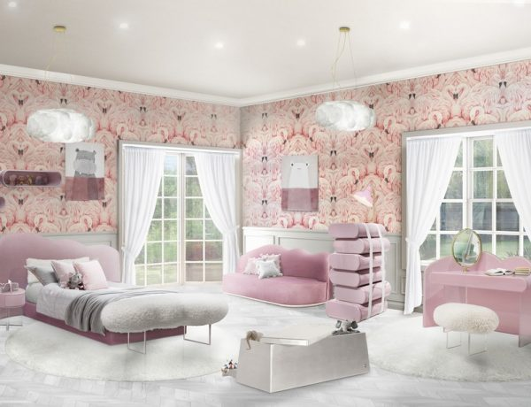 interior design trends 2019 Interior Design Trends 2019 – The Fluid Shapes are Here to Stay Fabinteriors Studio in India Creates Some Dreamy Kids Rooms 7 600x460