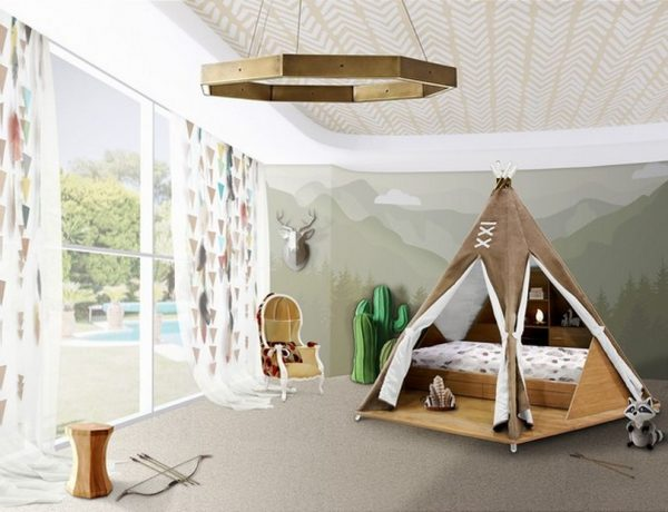 Decor for Kids Ideas - Teepee Bed is Circu's Product of the Week decor for kids ideas Decor for Kids Ideas – Teepee Bed Will Take Over 2020 Decor for Kids Ideas Teepee Bed is Circus Product of the Week 1 600x460