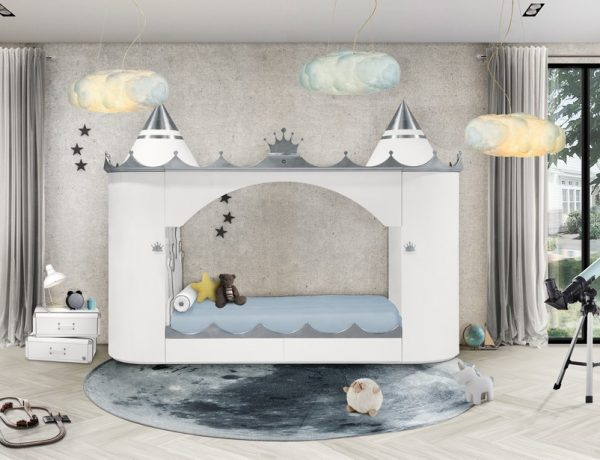 kids bedroom furniture Kids Bedroom Furniture – A Castle Bed Worthy of Royalty 5 Fairy Tale like Kids Bedroom Decors Youll Absolutely Love 5 600x460