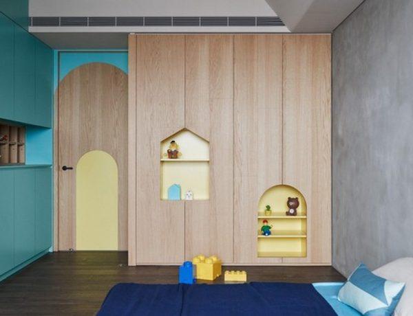 Interior Design Inspirations – Family Apartment by HAO Design Interior Design Inspirations Family Apartment by HAO Design 6 600x460  Kids Bedroom Ideas Interior Design Inspirations Family Apartment by HAO Design 6 600x460
