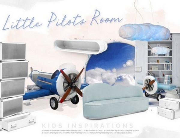 Kids Bedroom Decor Ideas – Aviation Theme Kids Bedroom Decor Ideas Aviation Theme 3 600x460