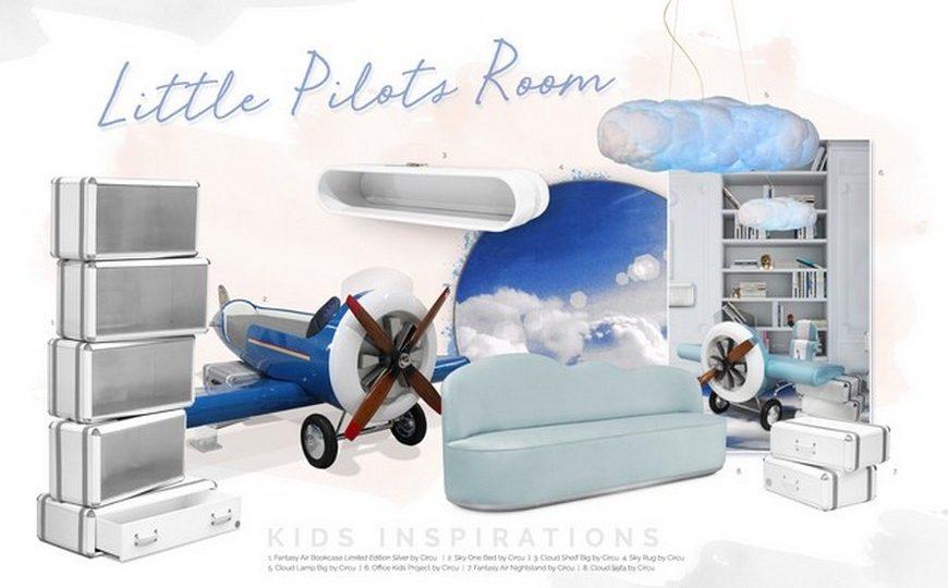Kids Bedroom Ideas Kids Bedroom Decor Ideas Aviation Theme 3 870x540