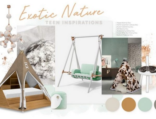 Kids Bedroom Ideas – Furniture with Nature-Inspired Colours Kids Bedroom Ideas Furniture with Nature Inspired Colours 2 1 600x460