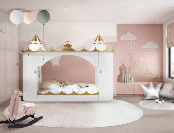 kids bedroom decors 5 Fairy Tale like Kids Bedroom Decors You'll Absolutely Love 8 Nursery Room Ideas for All Tastes 3 600x460