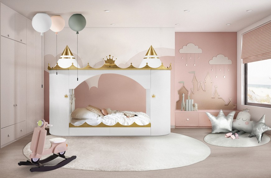 kids bedroom decors 5 Fairy Tale like Kids Bedroom Decors You'll Absolutely Love 8 Nursery Room Ideas for All Tastes 3
