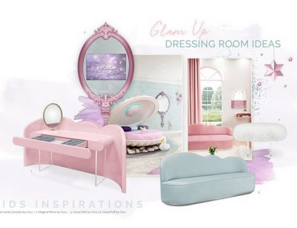 Kids Bedroom Trends 2020 – Glam Up Your Girl's Bedroom Kids Bedroom Trends 2020 Glam Up Your Girls Bedroom 5 600x460