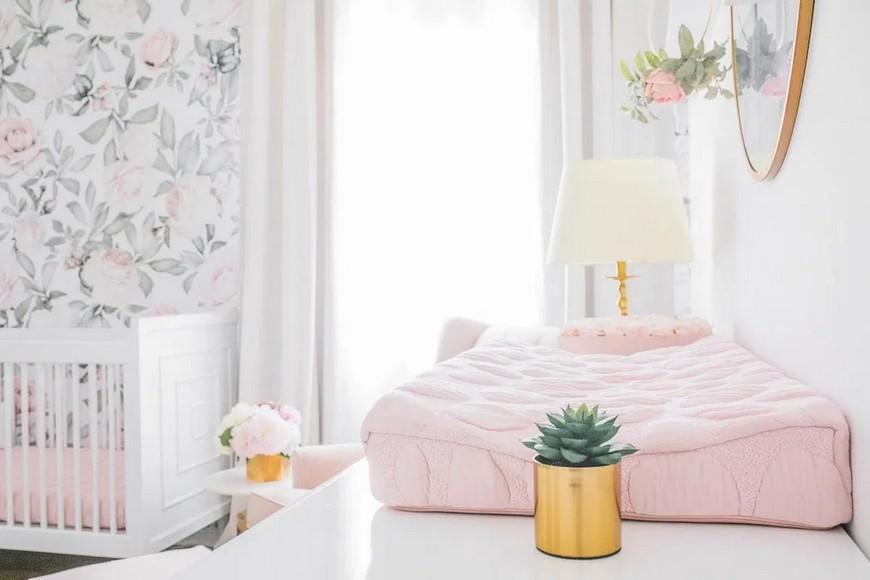 Naomi Alon Designed a Dreamy Blush Pink Nursery in LA little crown interiors Little Crown Interiors Designed a Dreamy Blush Pink Nursery in LA Naomi Alon Designed a Dreamy Blush Pink Nursery in LA 1