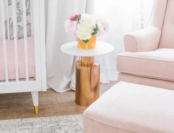 Naomi Alon Designed a Dreamy Blush Pink Nursery in LA little crown interiors Little Crown Interiors Designed a Dreamy Blush Pink Nursery in LA Naomi Alon Designed a Dreamy Blush Pink Nursery in LA 6 600x460