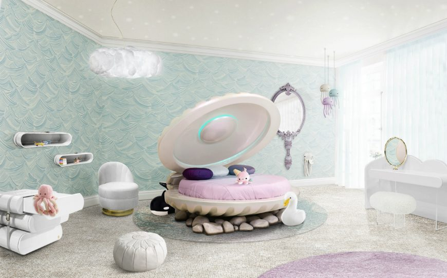 Kids Bedroom Ideas mermaid bed circu magical furniture 2 870x540