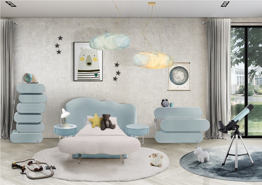 Baby Blue Furniture For Your Kids Bedroom Baby Blue Furniture For Your Kids Bedroom 1