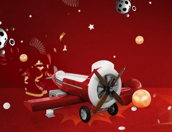 Get Yourself a Limited-Edition Red Sky-One Plane Bed! Get Yourself a Limited Edition Red Sky One Plane Bed 1 1 600x460