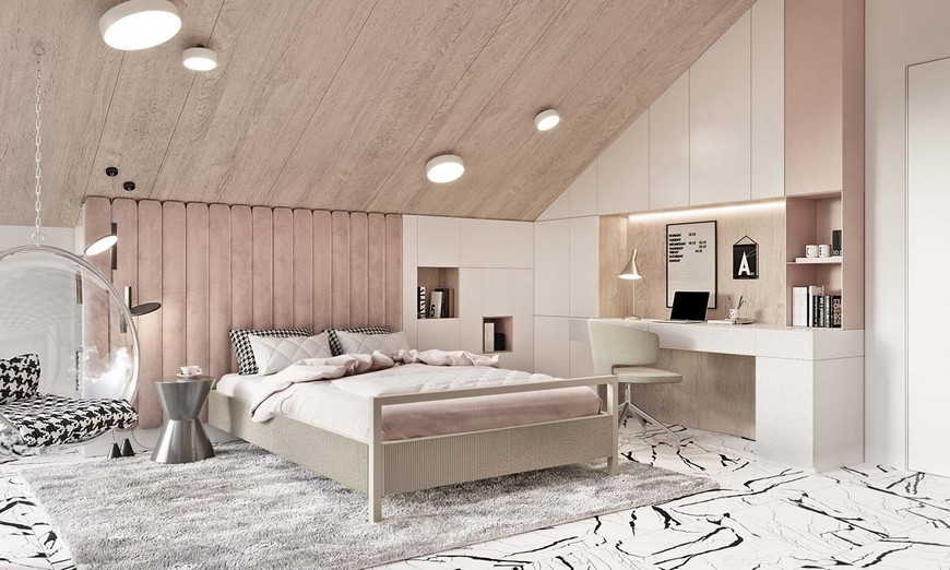 A Luxury Teenager Bedroom That is Pastel Dreams A Luxury Teenager Bedroom That is Pastel Dreams 2