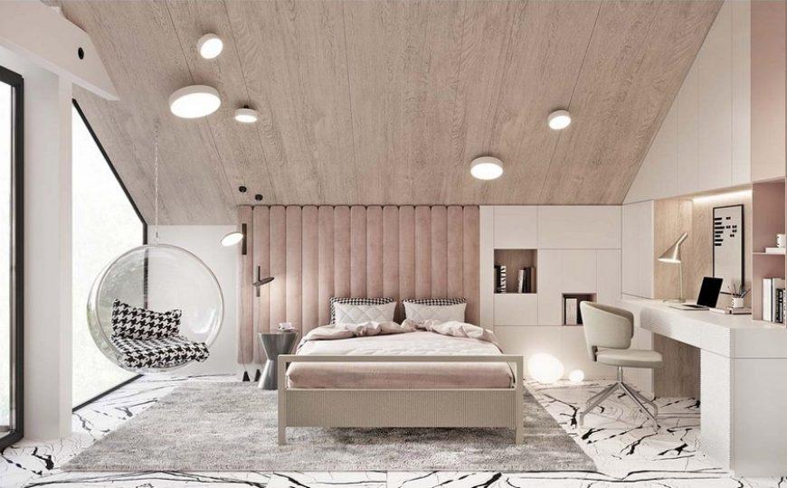 Kids Bedroom Ideas A Luxury Teenager Bedroom That is Pastel Dreams 3 870x540