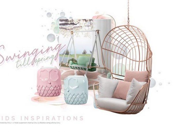 Kids Bedroom Ideas – Swing Chairs for 2020 Kids Bedroom Ideas Swing Chairs for 2020 3 600x460