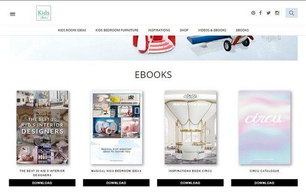 Free Interior Design Ebooks in Kids Bedroom Ideas! Free Interior Design Ebooks in Kids Bedroom Ideas 3 600x381