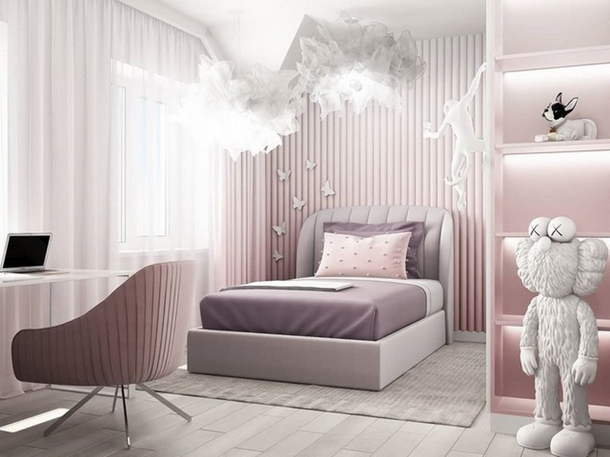 Kids Bedroom Ideas – Modern Little Girl Bedroom by Julia Vin Kids Bedroom Ideas Modern Little Girl Bedroom by Julia Vin 1