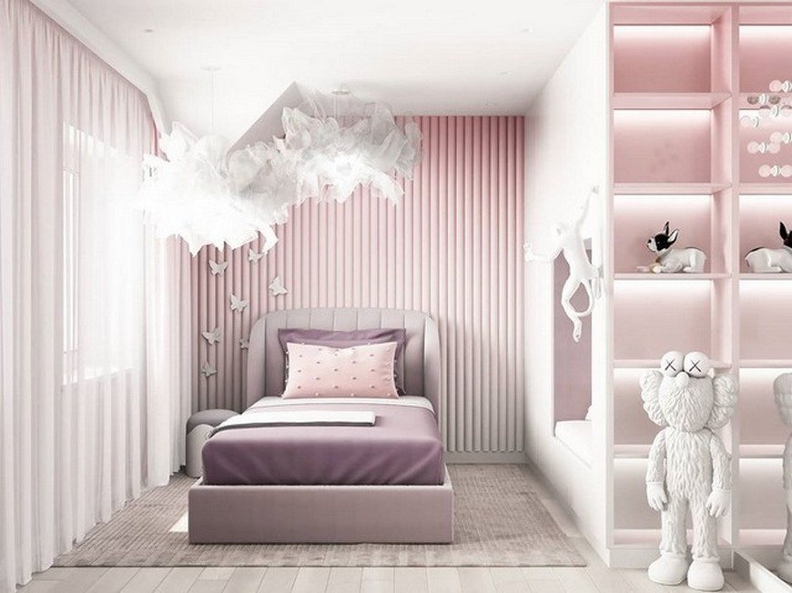 Kids Bedroom Ideas – Modern Little Girl Bedroom by Julia Vin Kids Bedroom Ideas Modern Little Girl Bedroom by Julia Vin 2