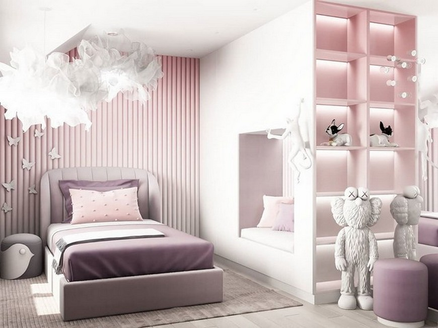 Kids Bedroom Ideas – Modern Little Girl Bedroom by Julia Vin Kids Bedroom Ideas Modern Little Girl Bedroom by Julia Vin 3