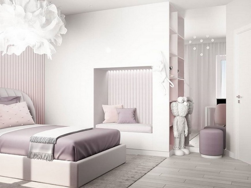 Kids Bedroom Ideas – Modern Little Girl Bedroom by Julia Vin Kids Bedroom Ideas Modern Little Girl Bedroom by Julia Vin 5