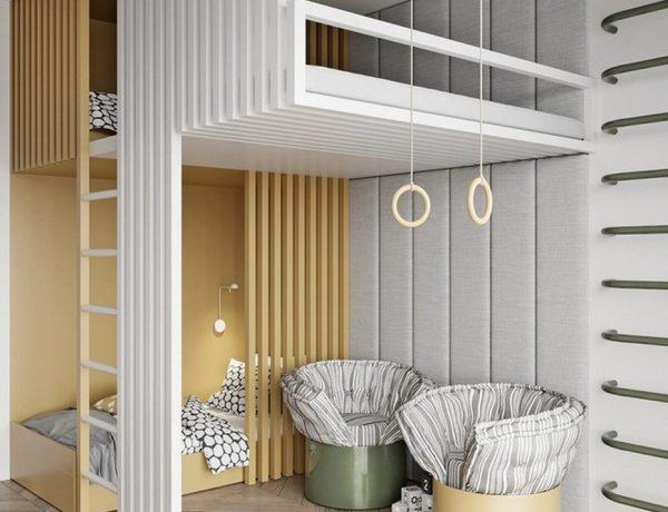 TOL'KO Interiors Create Incredible Kids Bedrooms TOLKO Interiors Create Incredible Kids Bedrooms 1 600x460