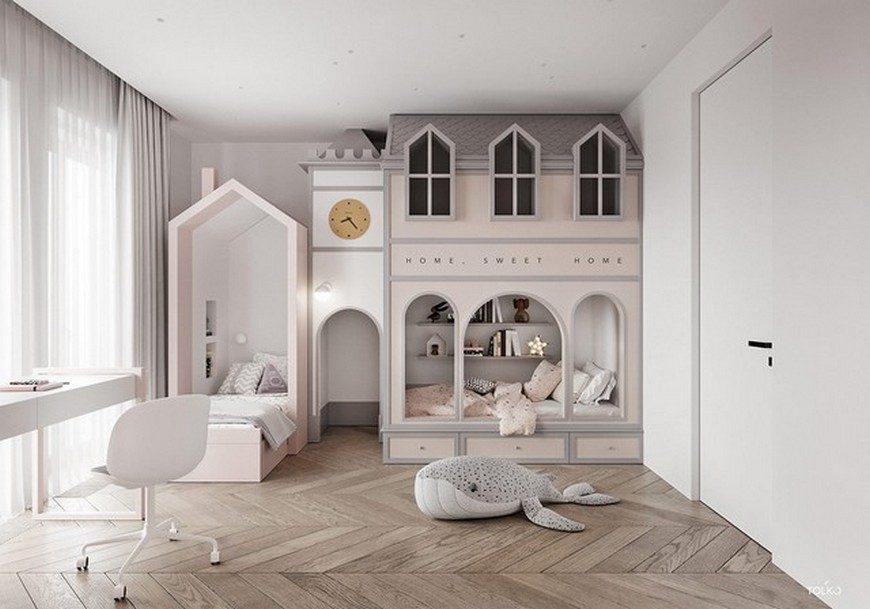 TOL'KO Interiors Create Incredible Kids Bedrooms TOLKO Interiors Create Incredible Kids Bedrooms 4