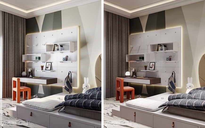 Amazing Kids Bedroom Decor by Prosvirin Design Amazing Kids Bedroom Decor by Prosvirin Design 3