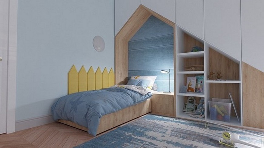Geometric Vibes in this Amazing Kids Bedroom by CDF Design Studio Geometric Vibes in this Amazing Kids Bedroom by CDF Design Studio 4
