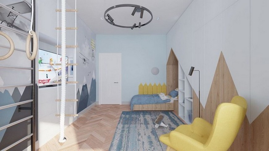 Geometric Vibes in this Amazing Kids Bedroom by CDF Design Studio Geometric Vibes in this Amazing Kids Bedroom by CDF Design Studio 5