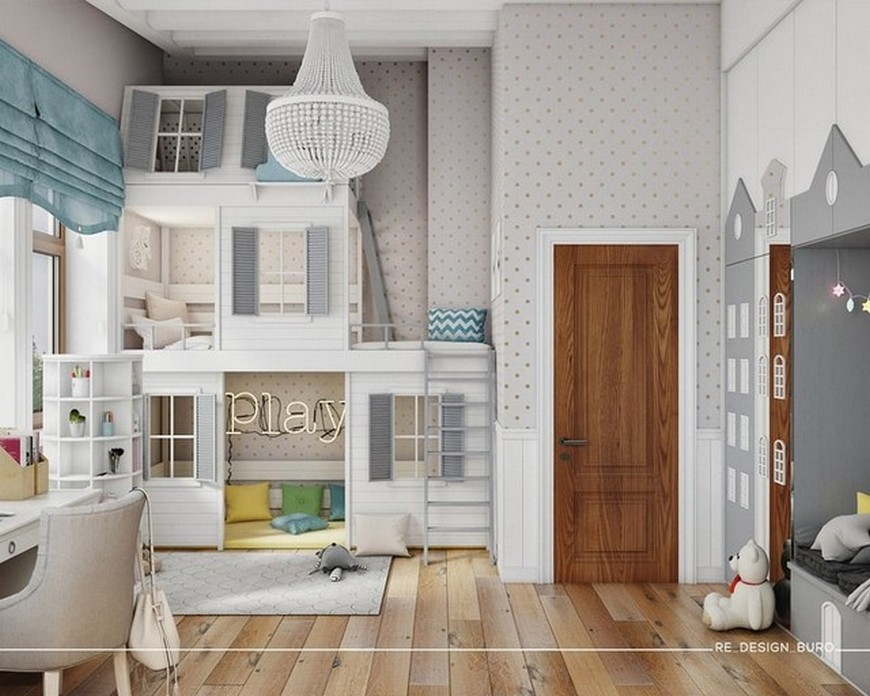 RE Design Studio's Classic Approach to Kids Bedrooms re design studio RE Design Studio's Classic Approach to Kids Bedrooms RE Design Studios Classic Approach to Kids Bedrooms 4