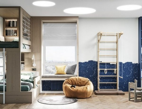 Meet the amazing Gray House by Cartelle Design Meet the amazing Gray House by Cartelle Design 6 600x460  Kids Bedroom Ideas Meet the amazing Gray House by Cartelle Design 6 600x460