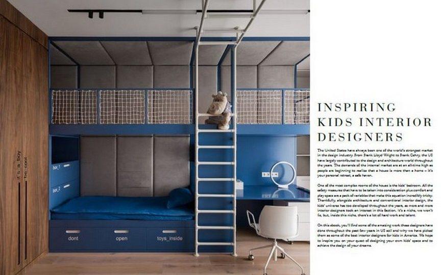 Kids Bedroom Ideas Get the New Best Interior Designers in America for Kids Ebook 1 870x540