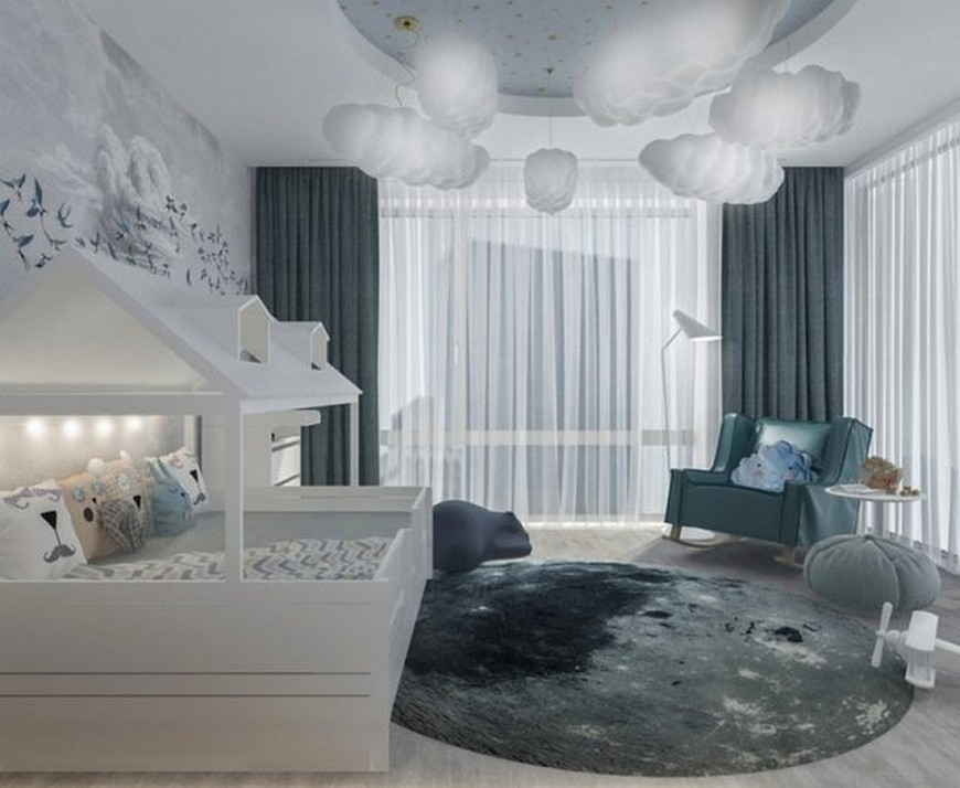 Amazing Kids Bedroom Projects with Cloud Lamps kids bedroom projects Amazing Kids Bedroom Projects with Cloud Lamps Amazing Kids Bedroom Projects with Cloud Lamps 3