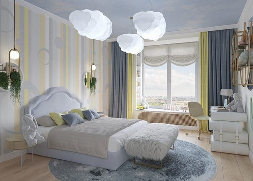 Amazing Kids Bedroom Projects with Cloud Lamps kids bedroom projects Amazing Kids Bedroom Projects with Cloud Lamps Amazing Kids Bedroom Projects with Cloud Lamps 4