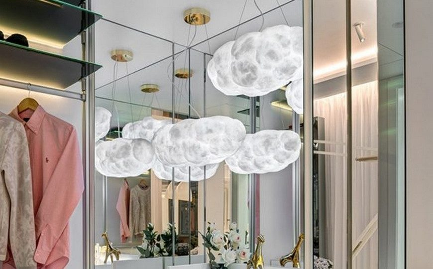 Kids Bedroom Ideas Amazing Kids Bedroom Projects with Cloud Lamps 5 870x540