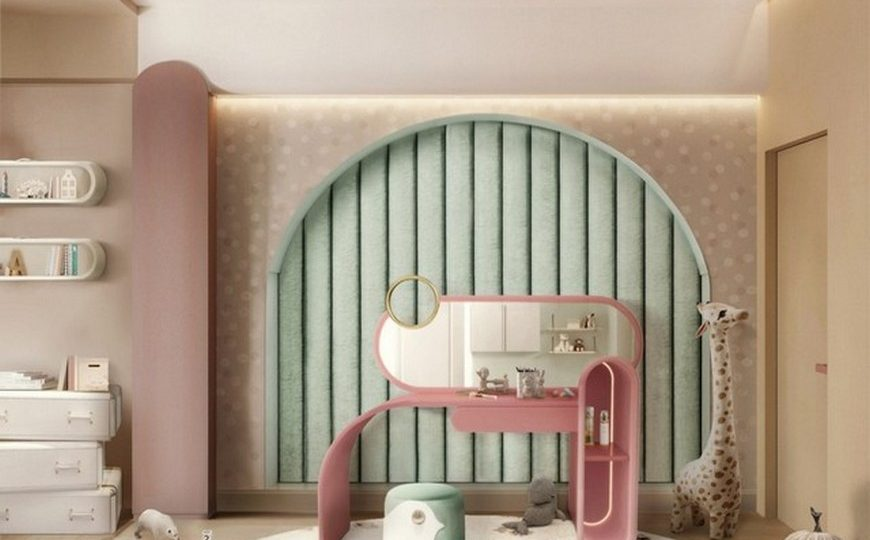 Kids Bedroom Ideas Upgrade Your Kids Bedrooms with the 2021 Interior Design Trends 1 870x540