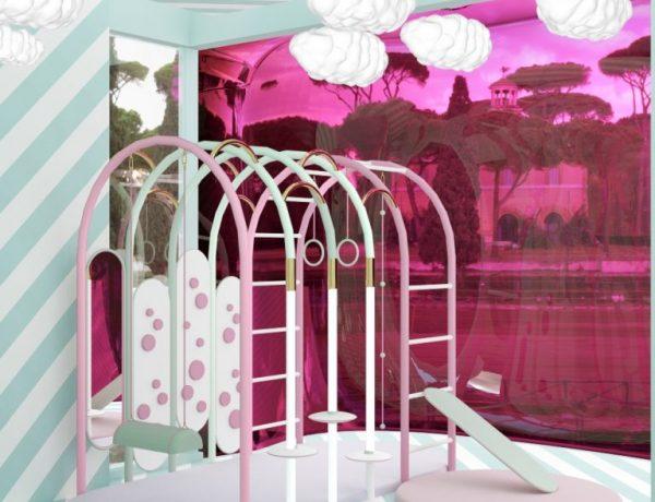 modern kids bedrooms Modern Kids Bedrooms in Incredible Hong Kong Villa by Ptang Studio Kids Bedroom 2 1 768x878 1 600x460