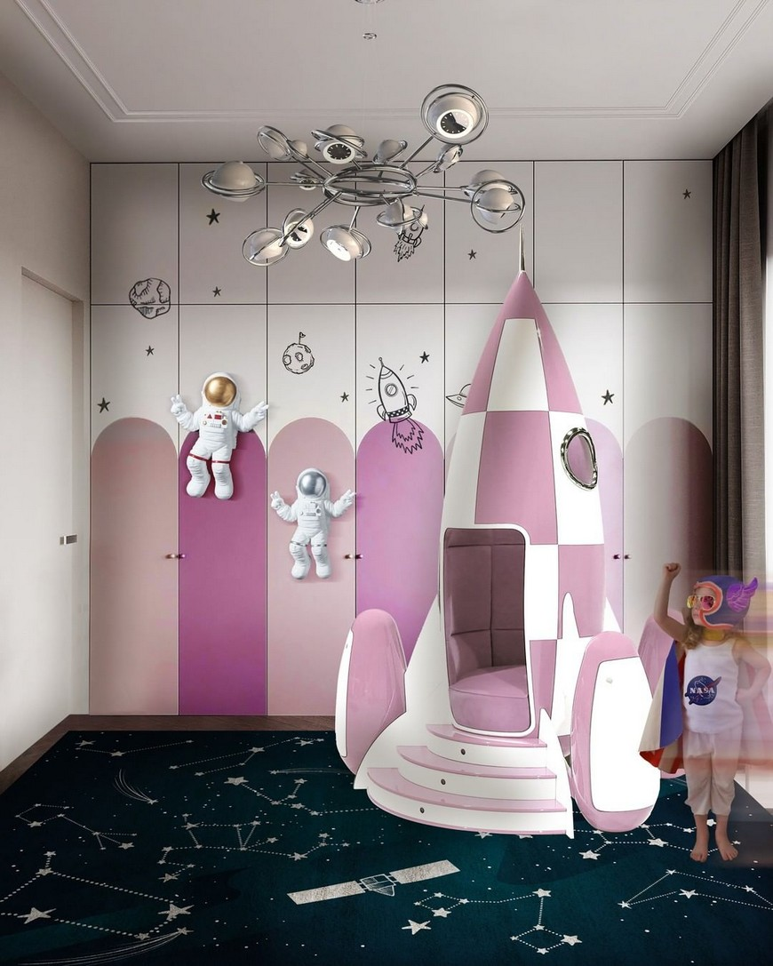 Space-Inspired Playroom Perfect for Kids to Play and Learn Space Inspired Playroom Perfect for Kids to Play and Learn1