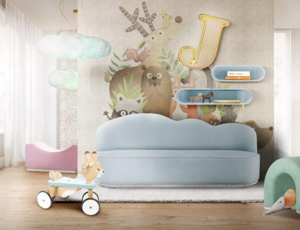 kids sofas Kids Sofas Perfect for Any Living Space Decor cloud sofa playroom 600x460