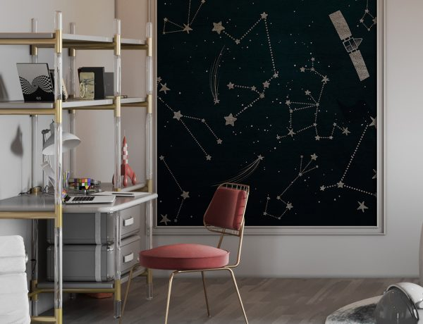 Kids Bedroom Ideas – A High-End Kids Study with Starry Vibes 2 1 600x460