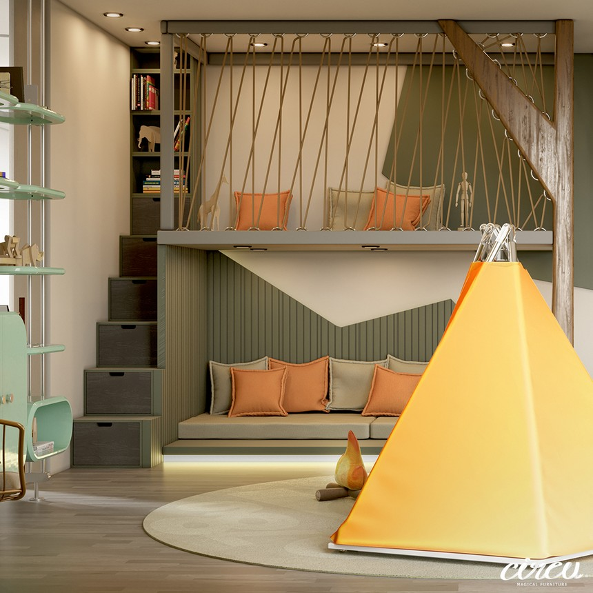 Kids Bedroom Ideas - The Best Jungle-Themed Bedroom Ever kids bedroom ideas Kids Bedroom Ideas – The Best Jungle-Themed Bedroom Ever Kids Bedroom Projects A Jungle Inspired bedroom Youll Love 1