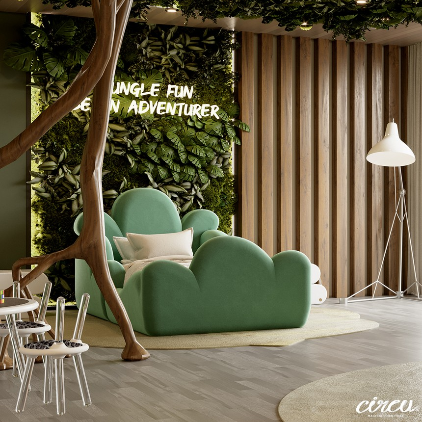Kids Bedroom Ideas - The Best Jungle-Themed Bedroom Ever kids bedroom ideas Kids Bedroom Ideas – The Best Jungle-Themed Bedroom Ever Kids Bedroom Projects A Jungle Inspired bedroom Youll Love 11