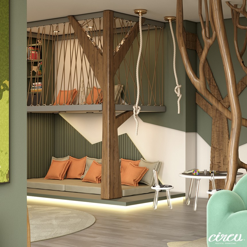 Kids Bedroom Ideas - The Best Jungle-Themed Bedroom Ever kids bedroom ideas Kids Bedroom Ideas – The Best Jungle-Themed Bedroom Ever Kids Bedroom Projects A Jungle Inspired bedroom Youll Love 15